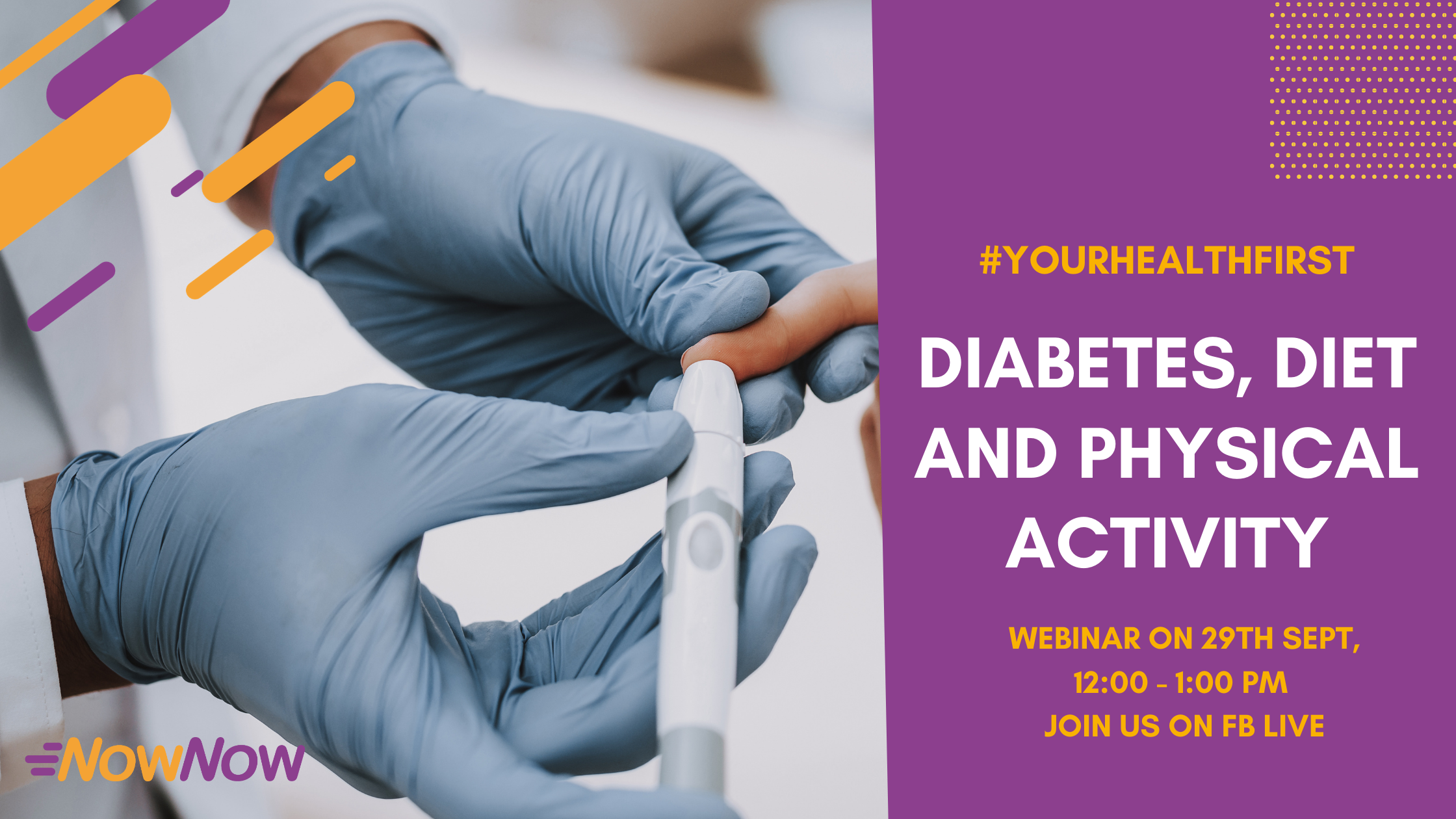 Webinar | Lifestyle Changes In Prevention And Management Of Diabetes