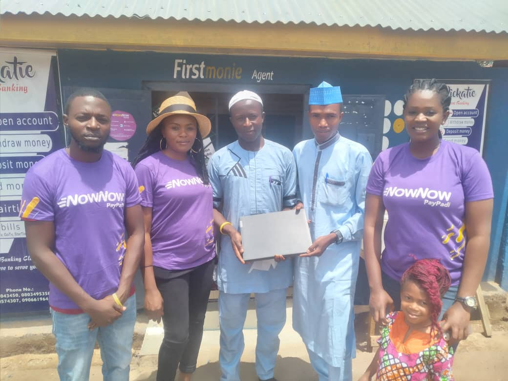 Prize Winner - NOWNOW Agent Refer and Earn Bonanza